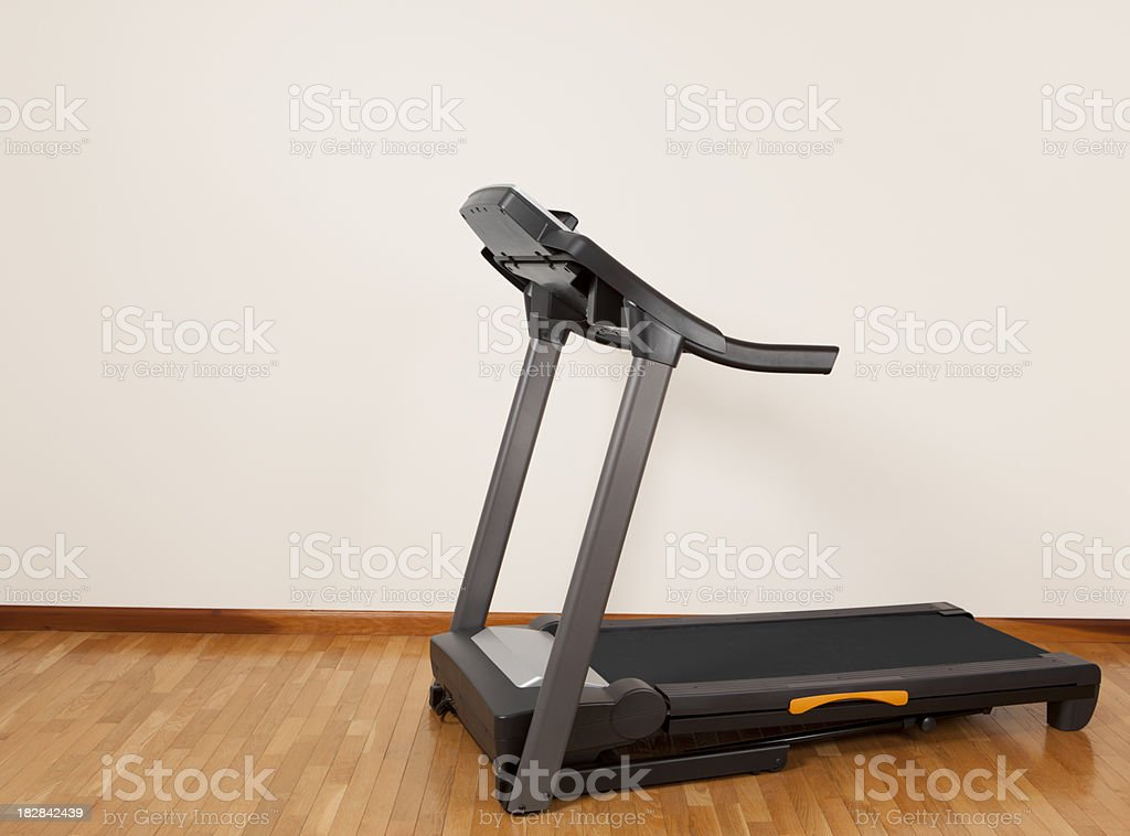 Treadmill royalty-free stock photo