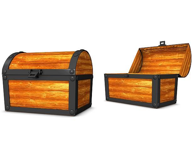 treasure box - piratenzimmer themen stock-fotos und bilder