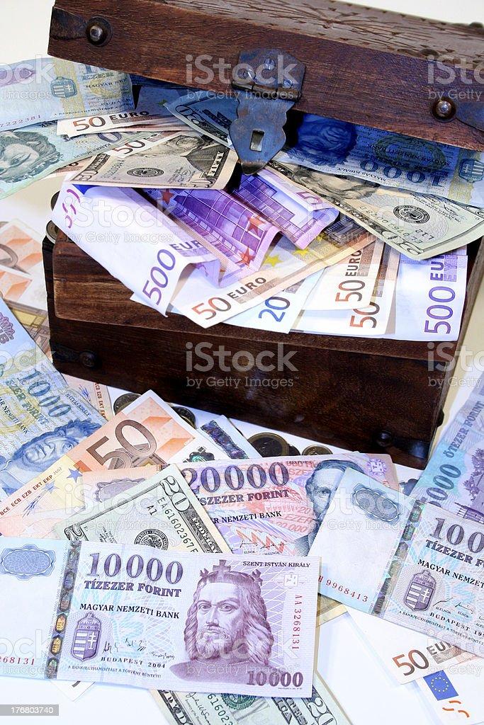 Treasure chest 4 royalty-free stock photo