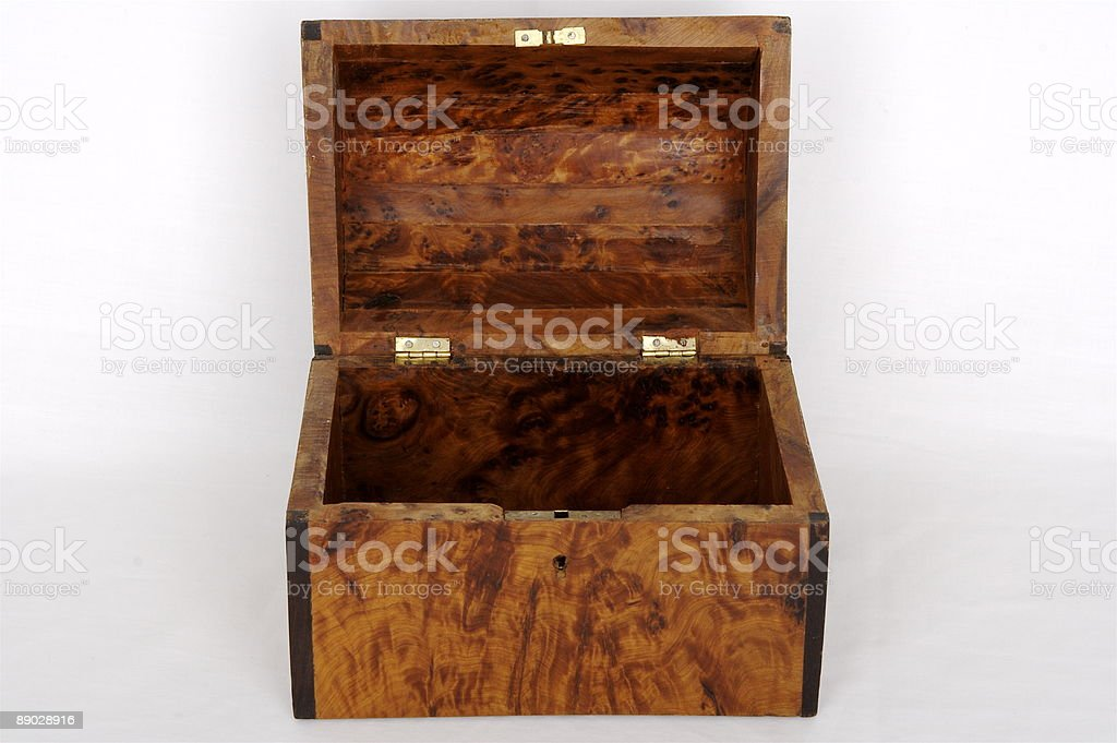 Treasure Chest Front royalty-free stock photo