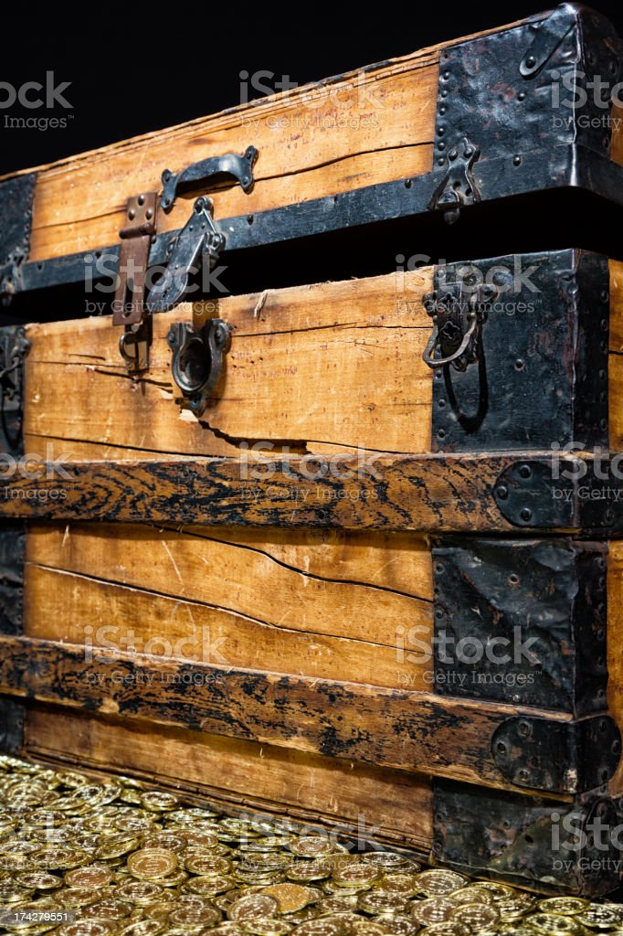Treasure Chest royalty-free stock photo