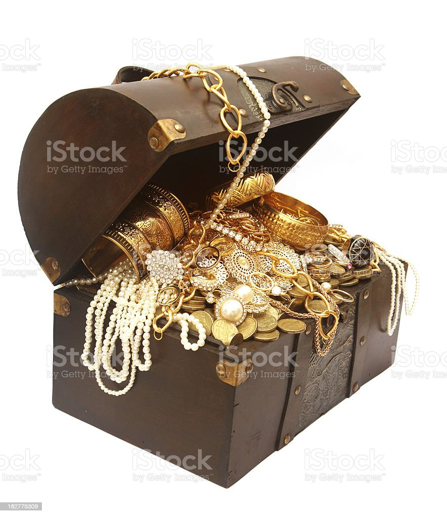 Box - Container Gold Jewelry Jewelry Box Manufactured Object. Treasure Chest ...  sc 1 st  iStock & Treasure Chest stock photo | iStock Aboutintivar.Com