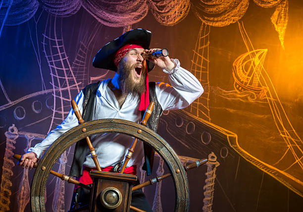 treasure hunt - pirates stock photos and pictures