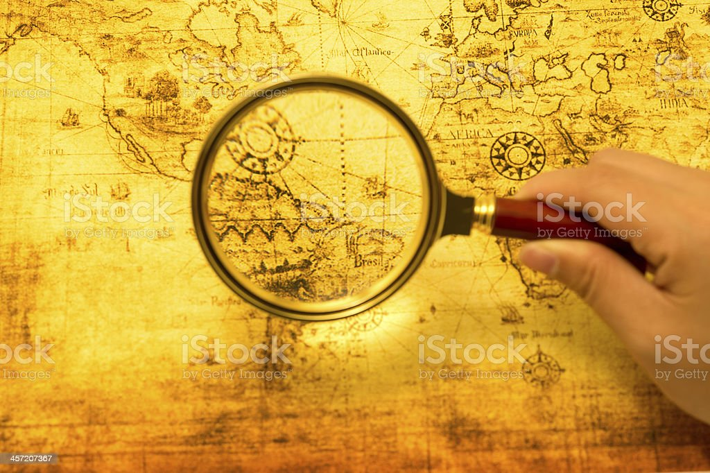 Treasure Hunting stock photo