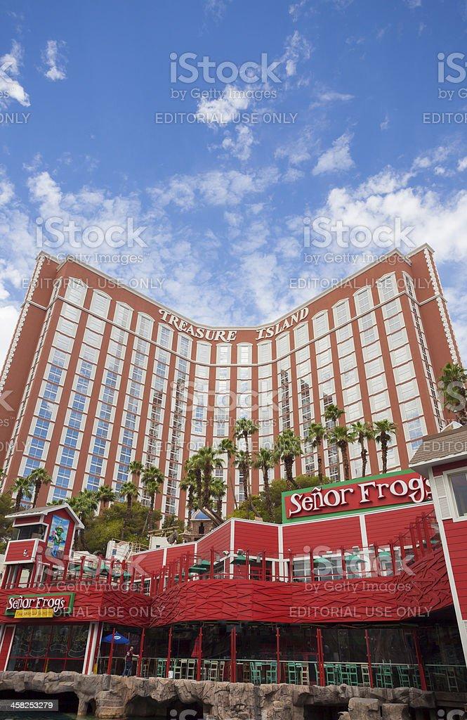 Treasure Island - Las Vegas royalty-free stock photo