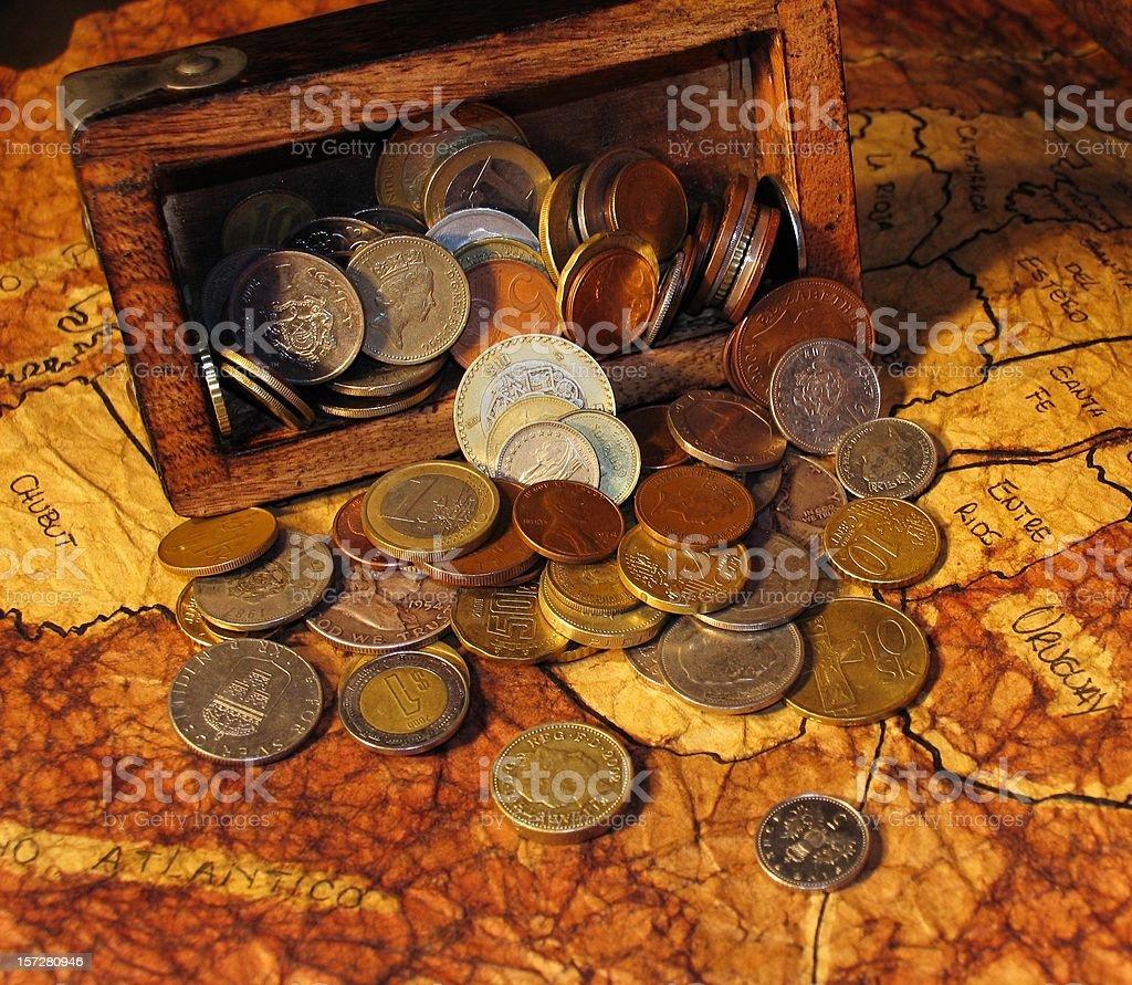 Treasure Overflowing royalty-free stock photo