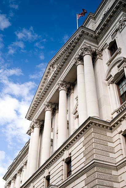 Treasury Building, Whitehall, London – Foto