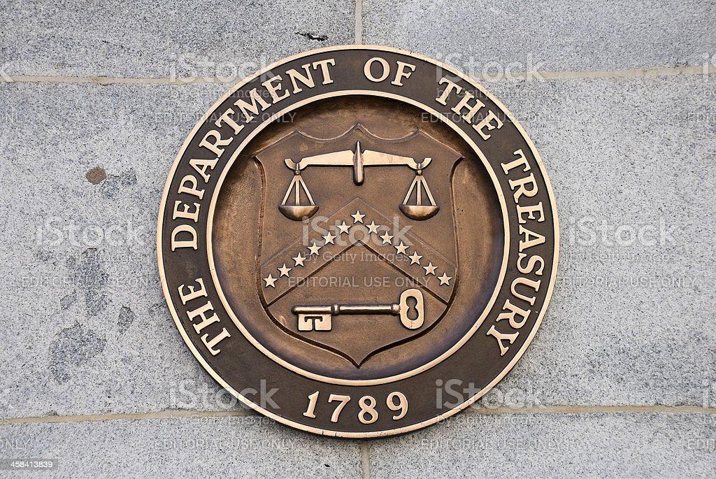 USA. Treasury-Abteilung – Foto