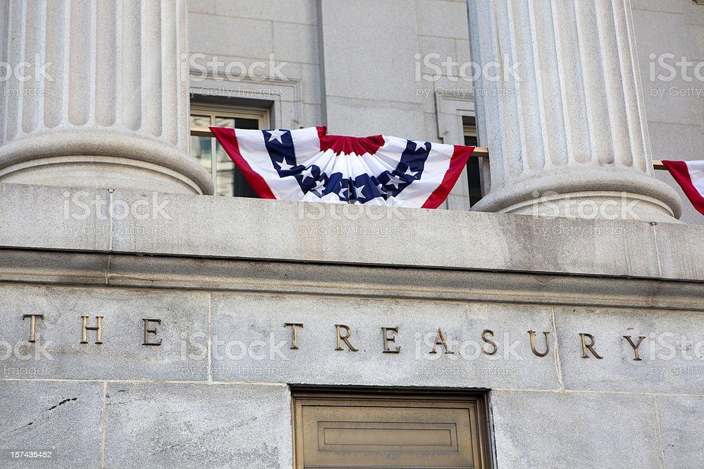 US Treasury royalty-free stock photo