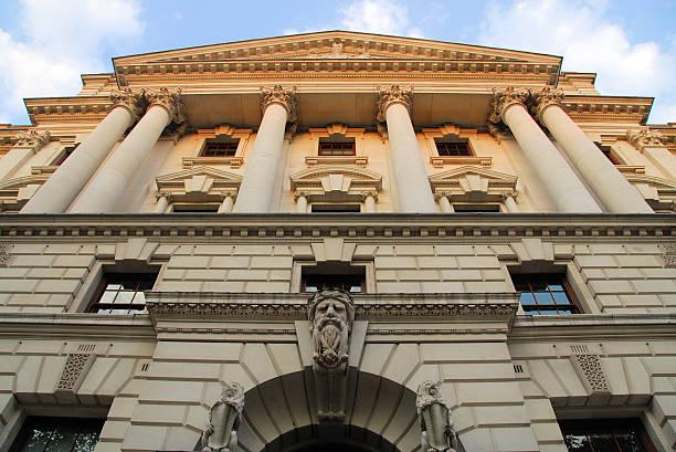HM tesorería, el erario público, Londres, Reino Unido - foto de stock