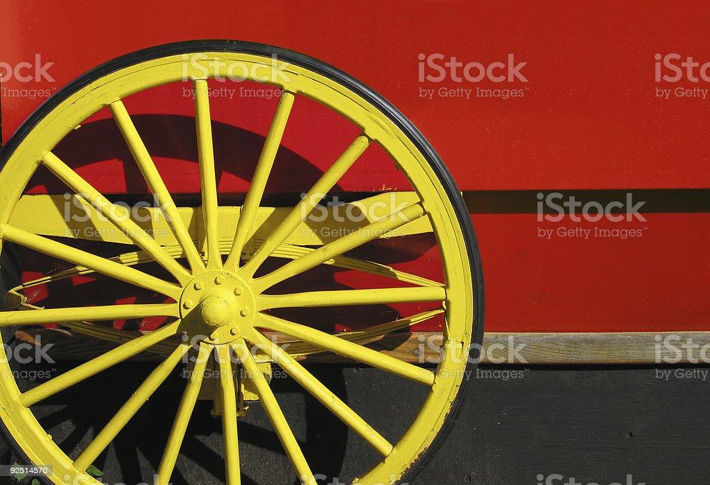 Treat Wagon royalty-free stock photo
