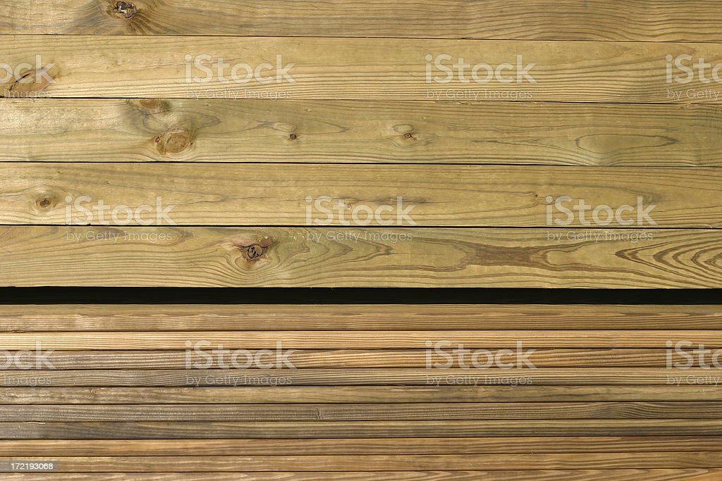 Treated Wood royalty-free stock photo