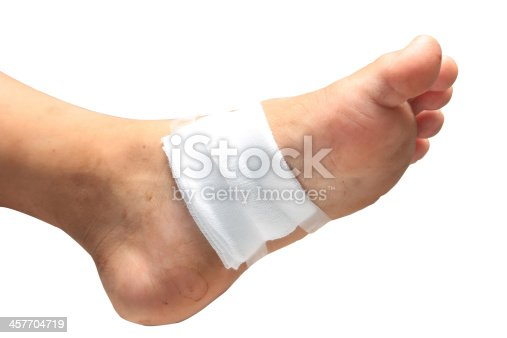 istock treating patients with foot ulcers 457704719