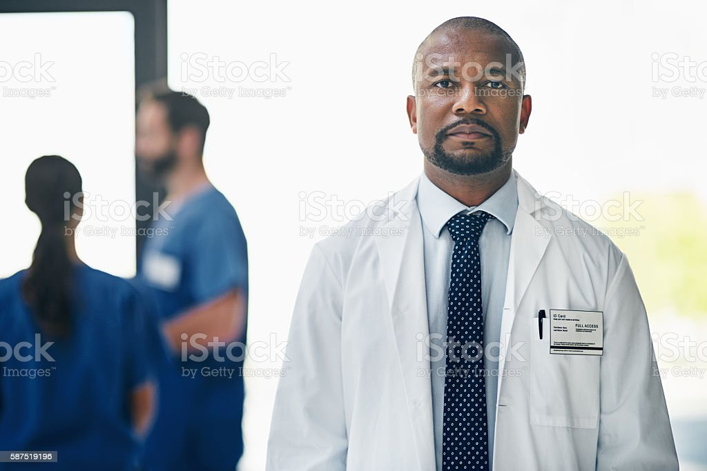 Treating your healthcare concerns with the seriousness it deserves stock photo