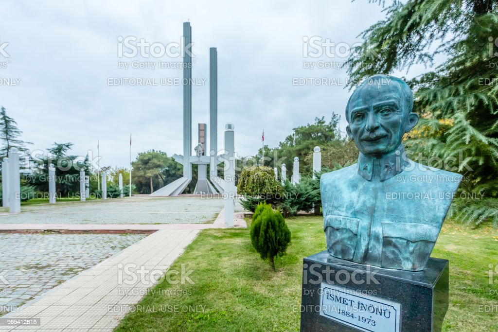 Treaty of Lausanne Monument and Museum in Edirne,Turkey royalty-free stock photo