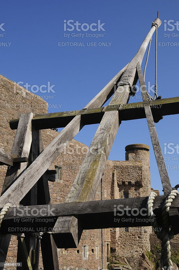Trebuchet, Jersey. royalty-free stock photo