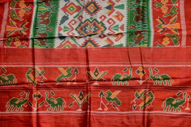 treditional silk  patola saree gujarat INDIA