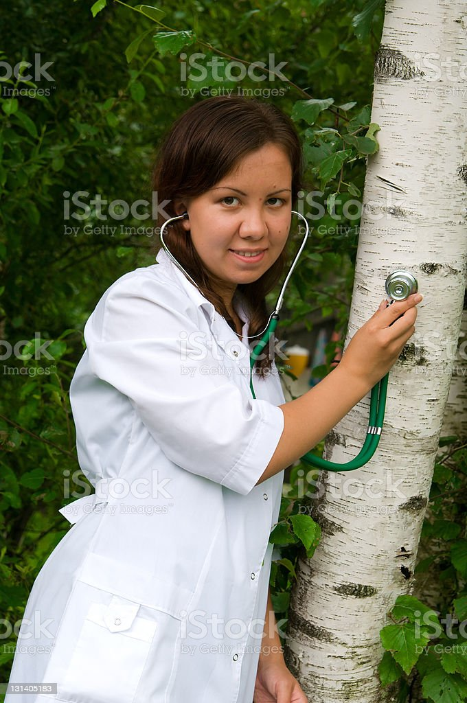Tree Doctor royalty-free stock photo