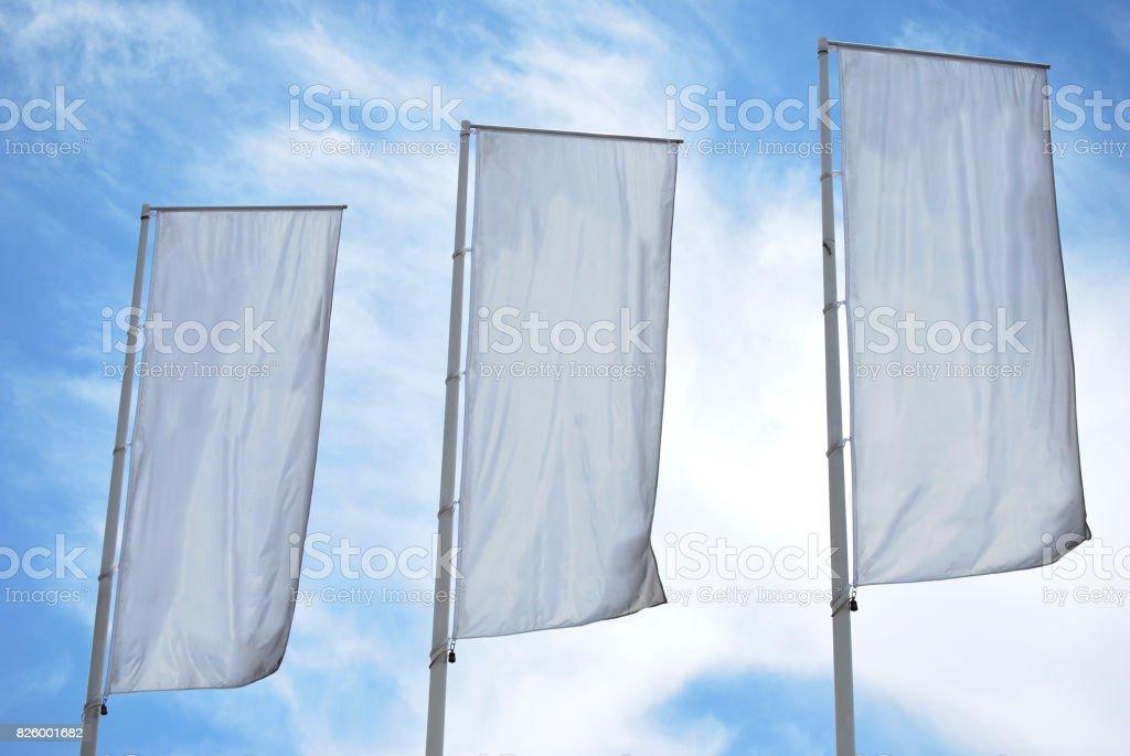 Tree empty banners stock photo