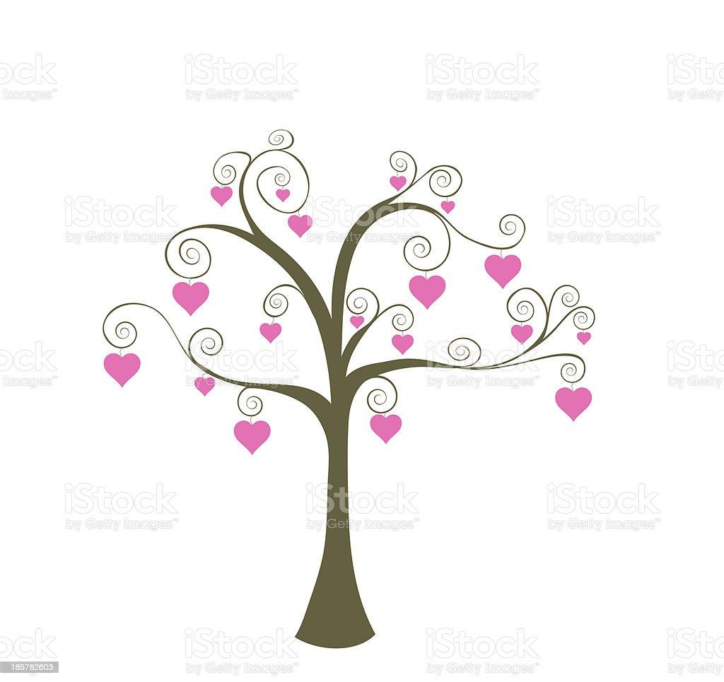 Tree of Love royalty-free stock photo
