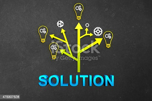 645716366 istock photo Tree of Solutions 475307528