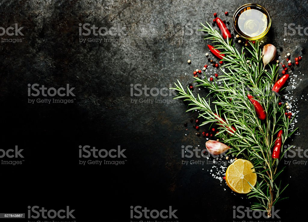 Tree of spices stock photo
