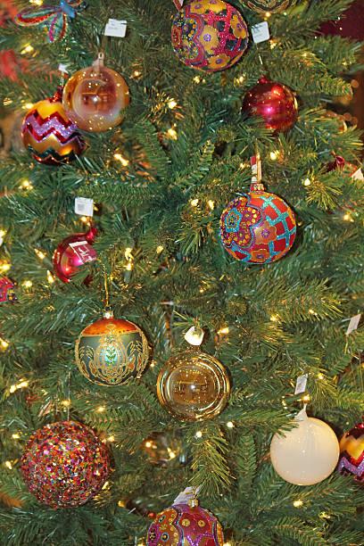 Tree Ornaments stock photo
