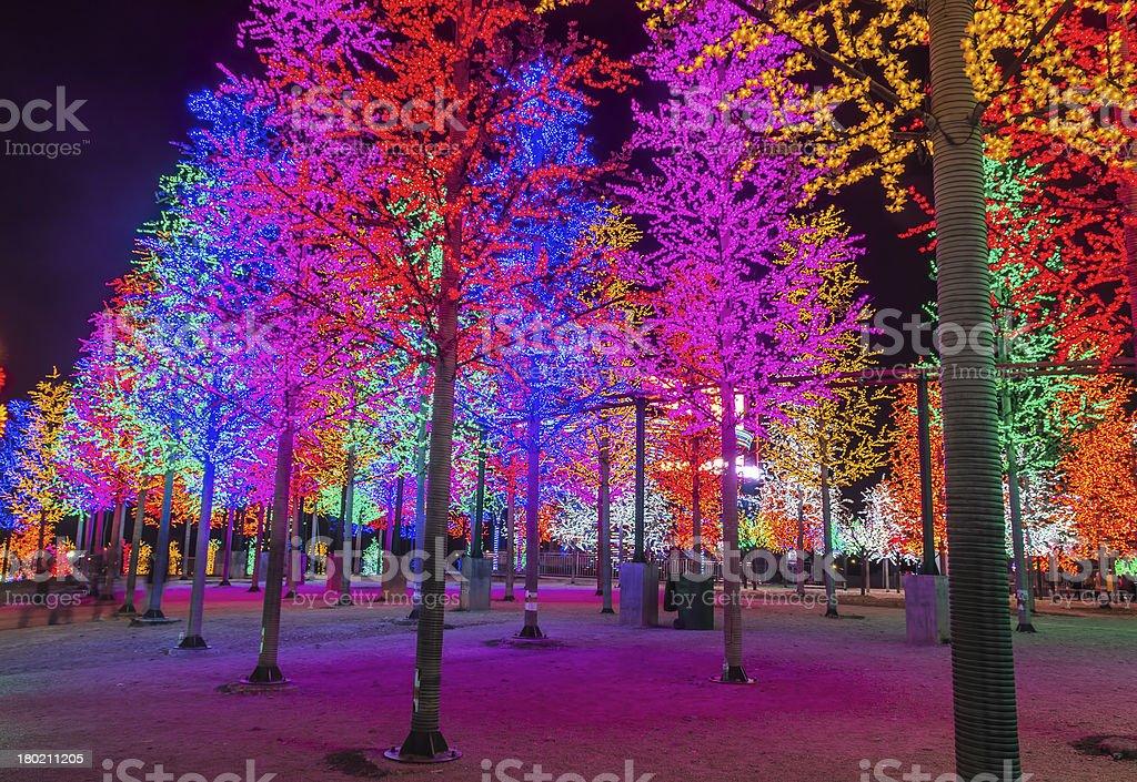 LED Tree royalty-free stock photo