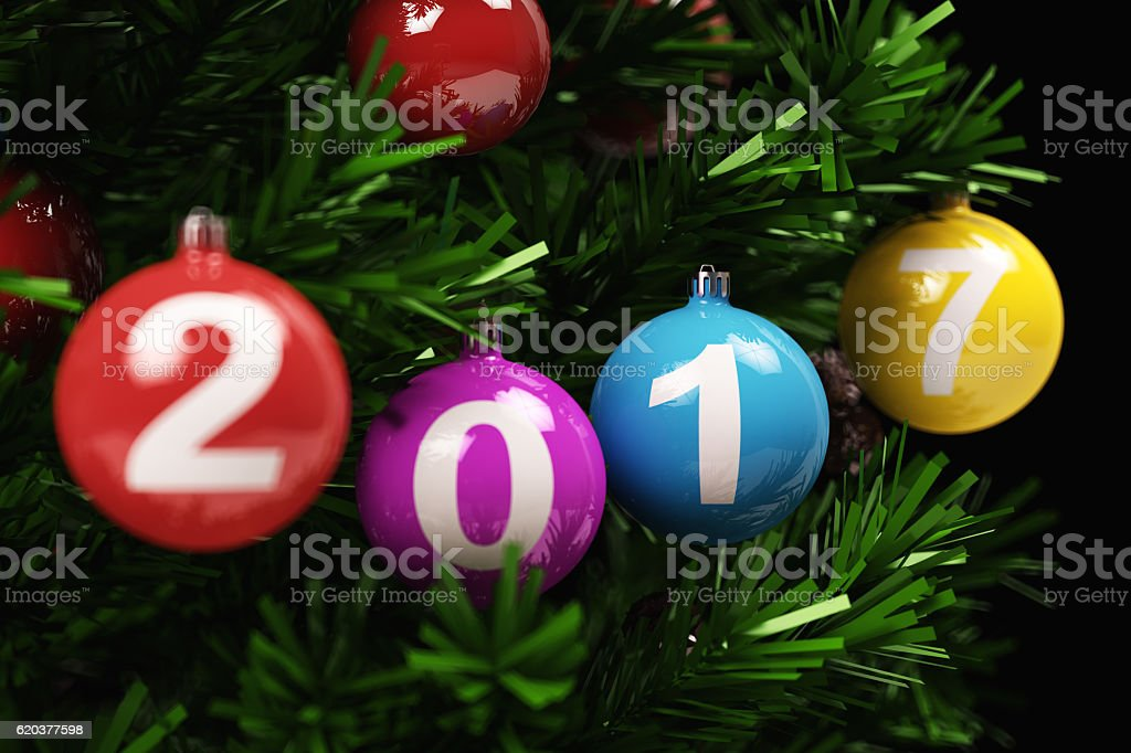 2017 Tree foto de stock royalty-free