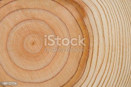 istock Tree rings texture background 185122724