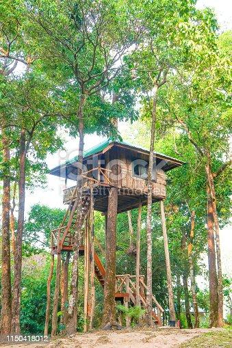 Treehouse, Thong Pha Phum National Park, Kanchanaburi, Thailand