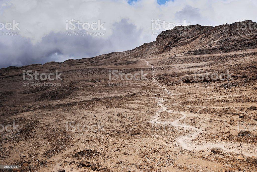 Trekker's Trail royalty-free stock photo