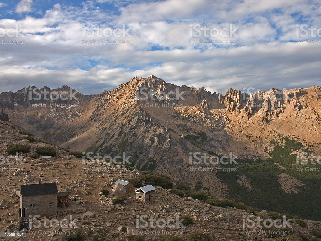 Trekking in National Park Nahuel Huapi royalty-free stock photo