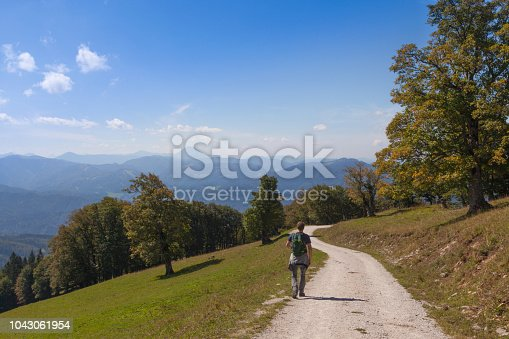 Panorama in the Alps in Lower Austria