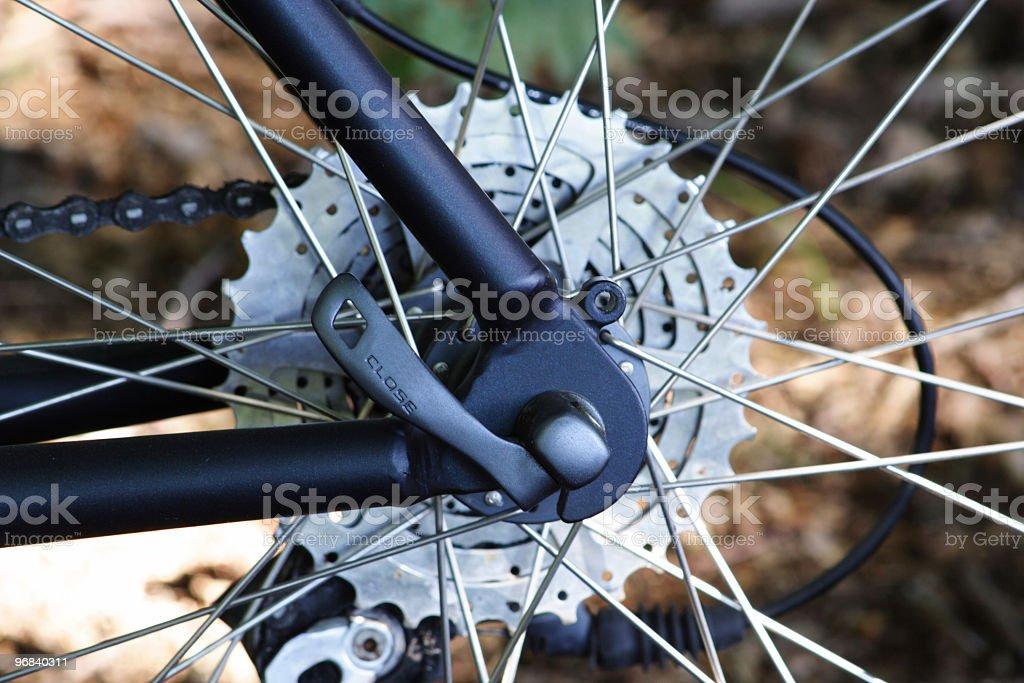 Trekkingbike royalty-free stock photo