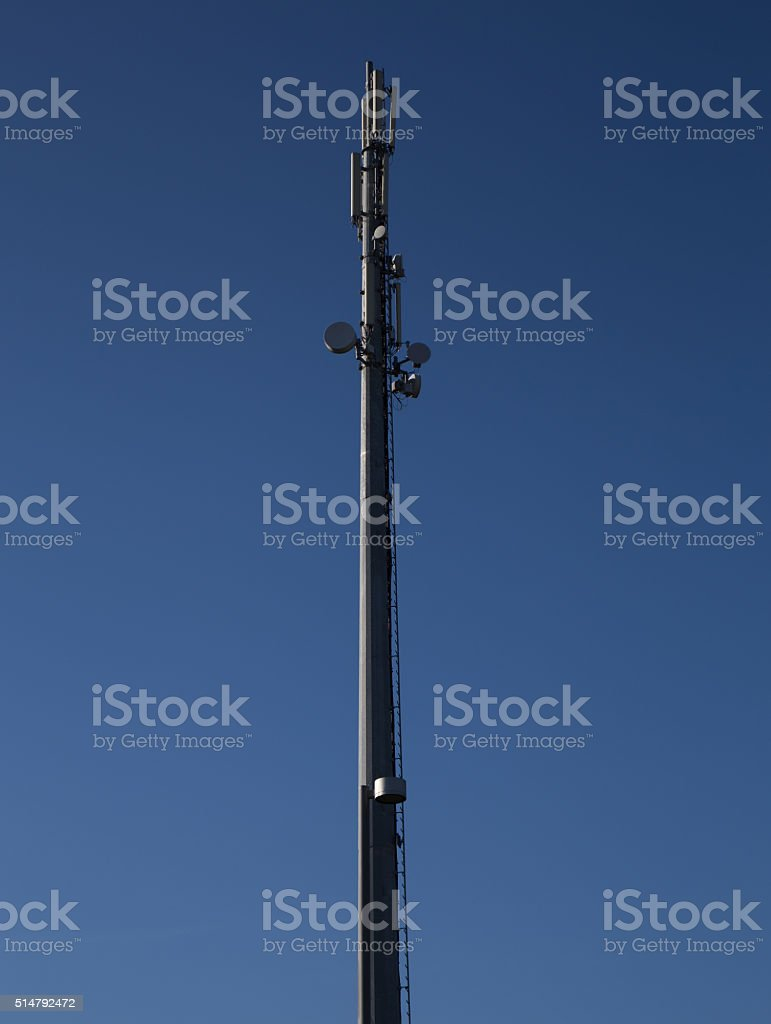 Trellis for telephony stock photo