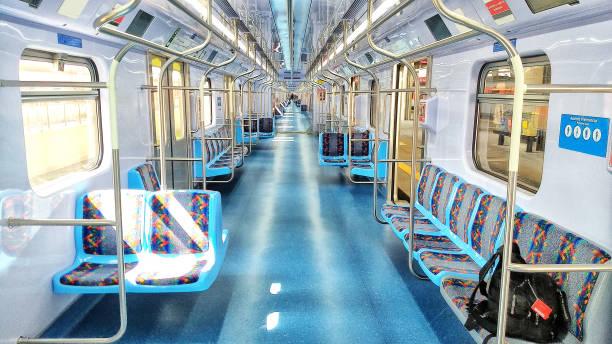 trem-guarulhos flyg plats-tåg - järnvägsvagn tåg bildbanksfoton och bilder
