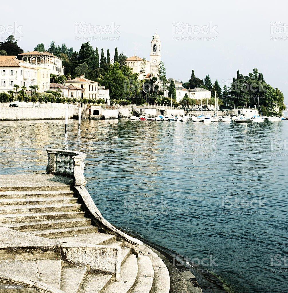 Tremezzo, Lake Como stock photo