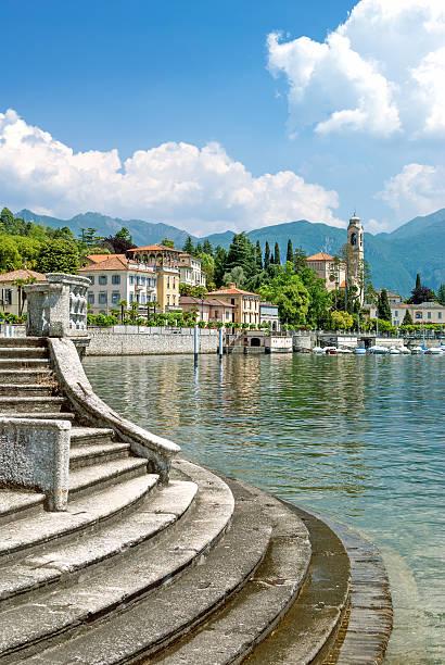 tremezzo,lake como,italy - lake como stock photos and pictures