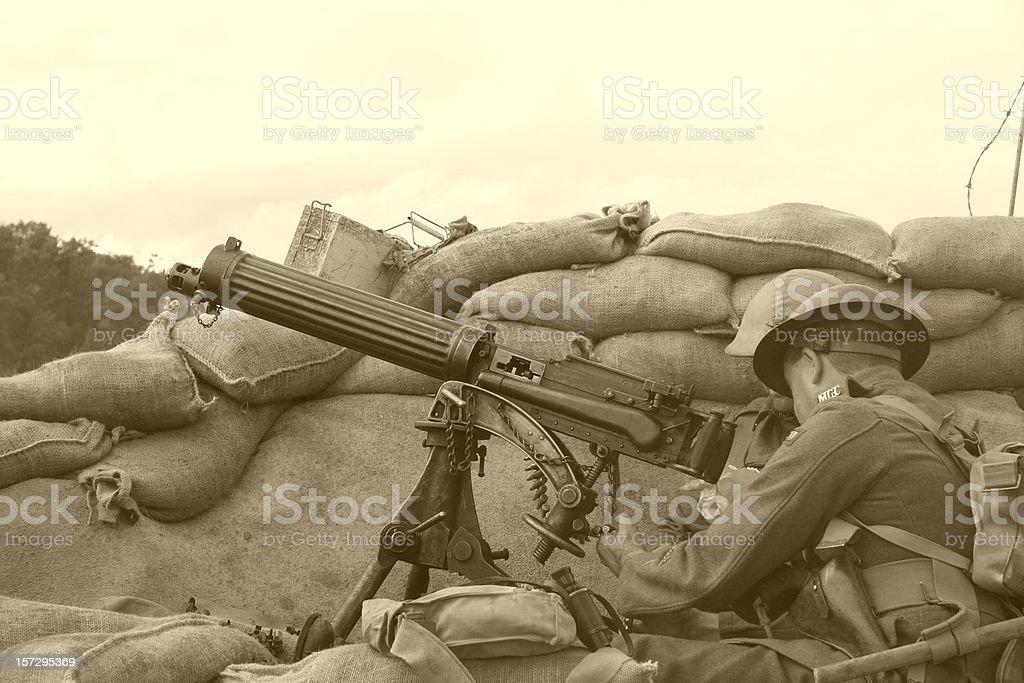 WWI Trench Sépia - Photo