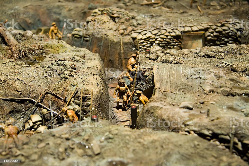 Trench guerre mondiale - Photo
