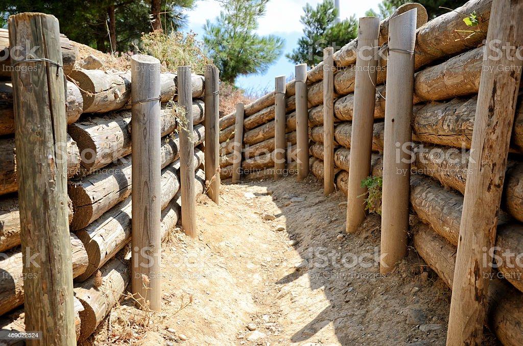 Tranchées de Gallipoli-Italie, Canakkale, Turquie - Photo