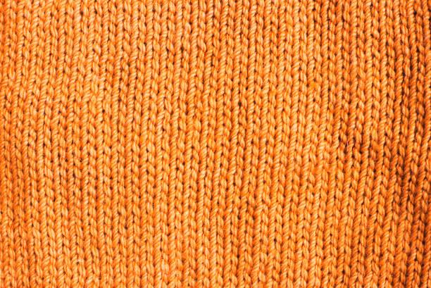 趨勢赤褐色羊毛針織背景, 質地, 特寫 - 針織品 個照片及圖片檔