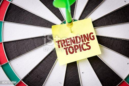 istock Trending Topics 826751694