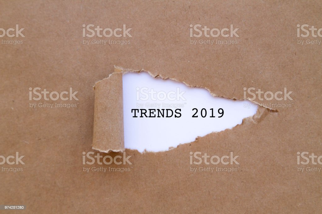 Tendencias 2019 - foto de stock