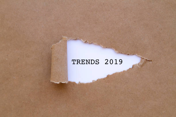 Trends 2019 stock photo