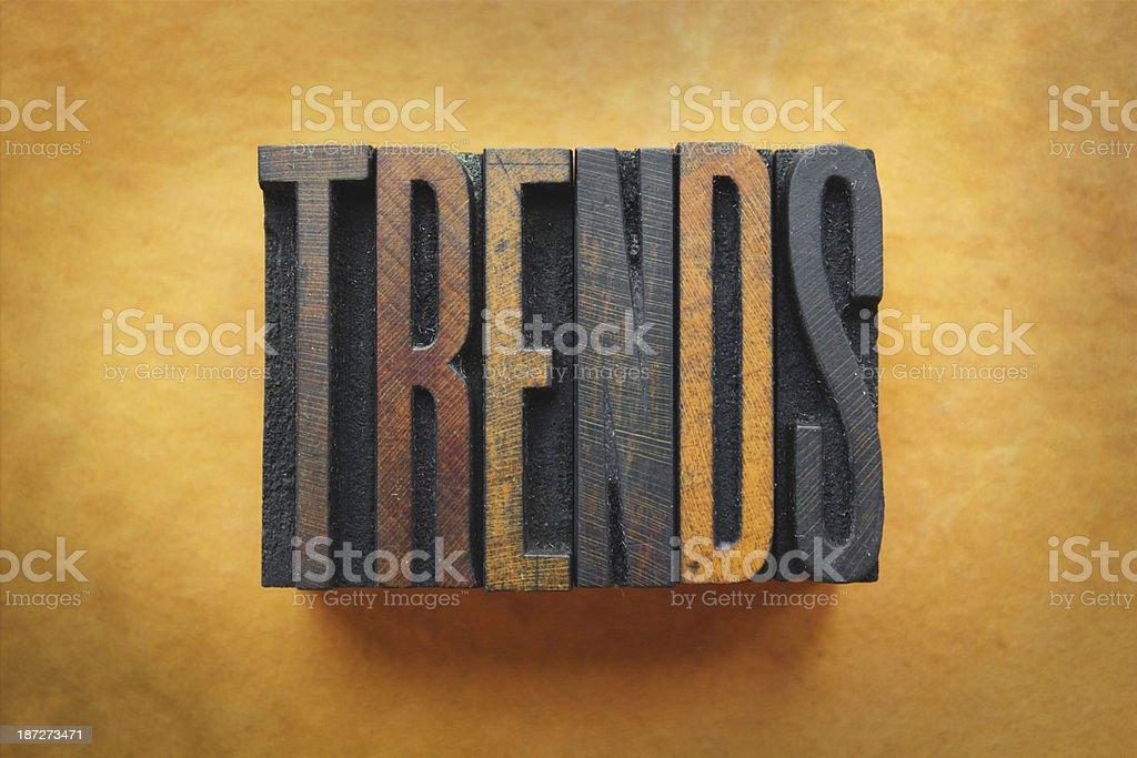 Trends stock photo