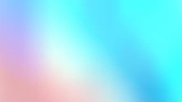 modne abstrakcyjne holograficzne tło opalizujące. pastelowe kolorowe tło - pastelowy kolor zdjęcia i obrazy z banku zdjęć