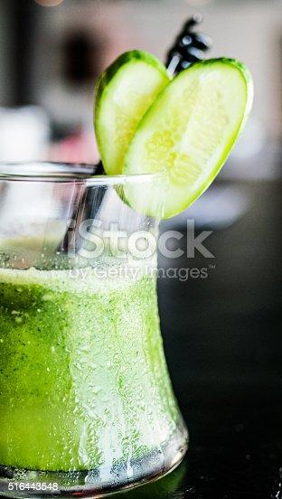trendy alcoholic cocktail