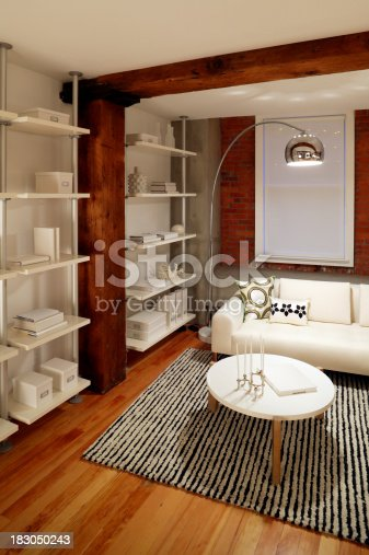 istock trendy apartment furnished 183050243